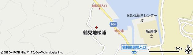 大分県佐伯市鶴見大字地松浦590周辺の地図