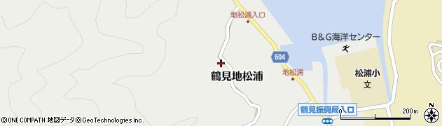 大分県佐伯市鶴見大字地松浦623周辺の地図