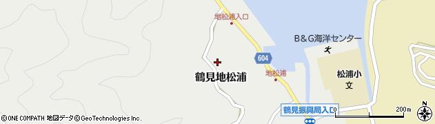 大分県佐伯市鶴見大字地松浦597周辺の地図