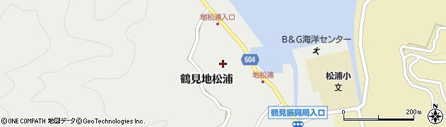 大分県佐伯市鶴見大字地松浦585周辺の地図