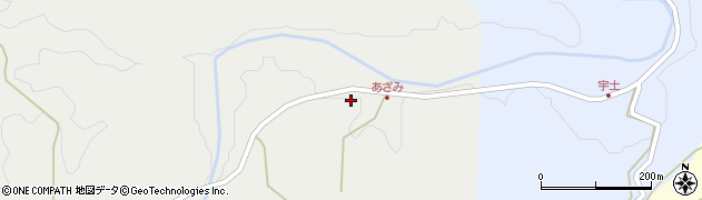 大分県竹田市渡瀬240周辺の地図