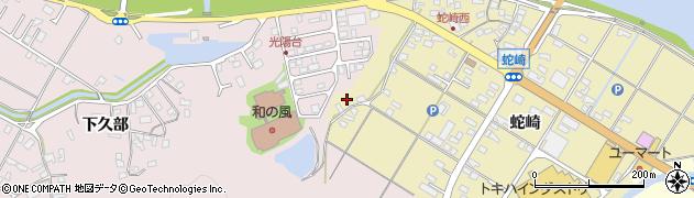 大分県佐伯市池田2248周辺の地図
