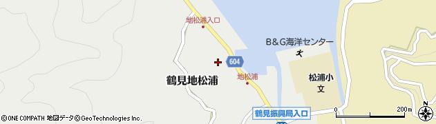 大分県佐伯市鶴見大字地松浦581周辺の地図