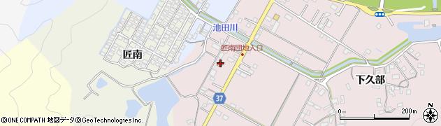 大分県佐伯市池田1091周辺の地図