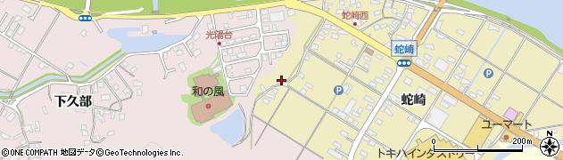 大分県佐伯市池田1818周辺の地図