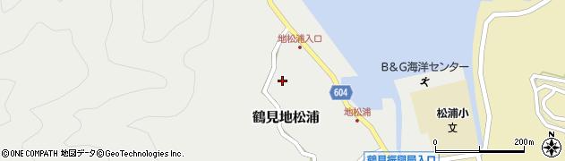 大分県佐伯市鶴見大字地松浦601周辺の地図