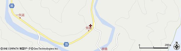 大分県佐伯市本匠大字波寄2405周辺の地図