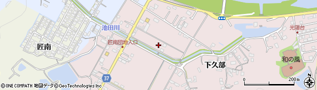大分県佐伯市池田1288周辺の地図
