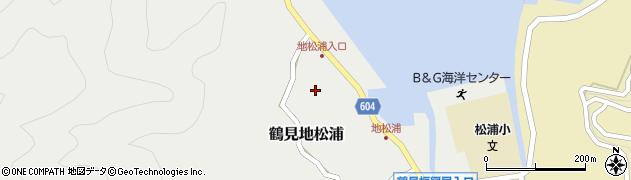 大分県佐伯市鶴見大字地松浦565周辺の地図