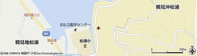 大分県佐伯市鶴見大字沖松浦807周辺の地図