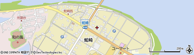大分県佐伯市池田2136周辺の地図