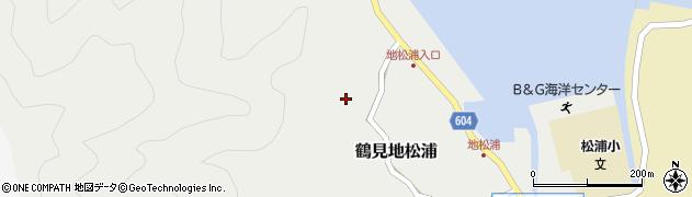 大分県佐伯市鶴見大字地松浦505周辺の地図