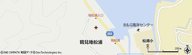 大分県佐伯市鶴見大字地松浦560周辺の地図