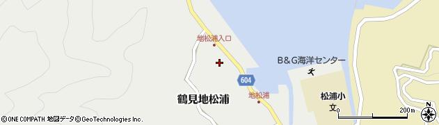 大分県佐伯市鶴見大字地松浦561周辺の地図