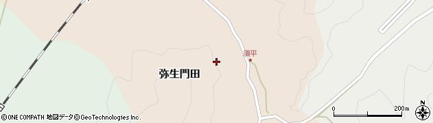 大分県佐伯市弥生大字門田須平周辺の地図