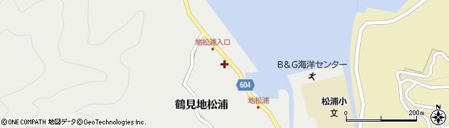 大分県佐伯市鶴見大字地松浦563周辺の地図