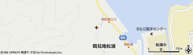 大分県佐伯市鶴見大字地松浦471周辺の地図