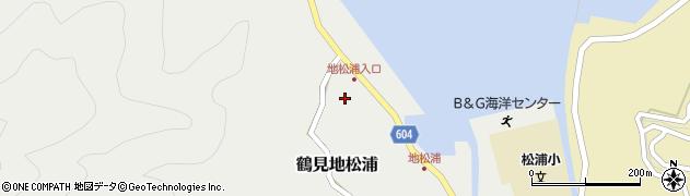 大分県佐伯市鶴見大字地松浦552周辺の地図