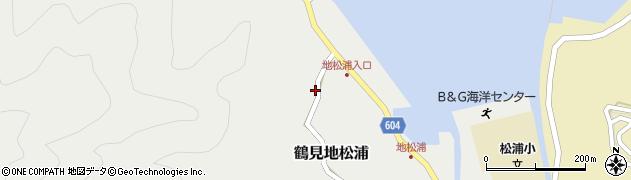 大分県佐伯市鶴見大字地松浦472周辺の地図