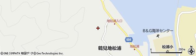 大分県佐伯市鶴見大字地松浦476周辺の地図