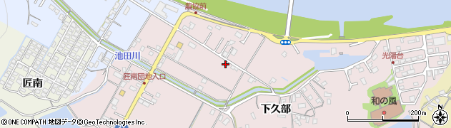 大分県佐伯市池田1310周辺の地図