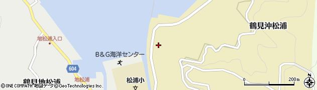 大分県佐伯市鶴見大字沖松浦1470周辺の地図