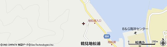 大分県佐伯市鶴見大字地松浦468周辺の地図