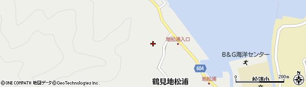 大分県佐伯市鶴見大字地松浦455周辺の地図
