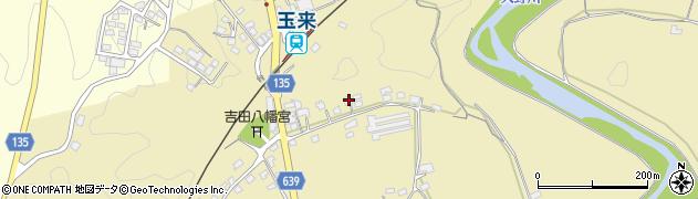 大分県竹田市吉田256周辺の地図