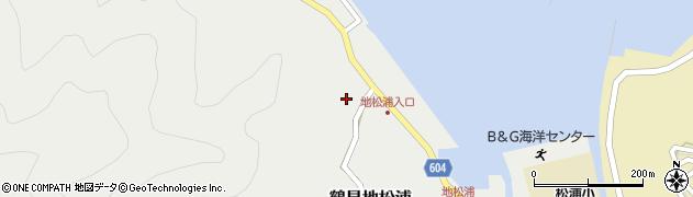 大分県佐伯市鶴見大字地松浦459周辺の地図