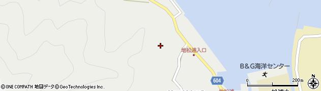 大分県佐伯市鶴見大字地松浦442周辺の地図