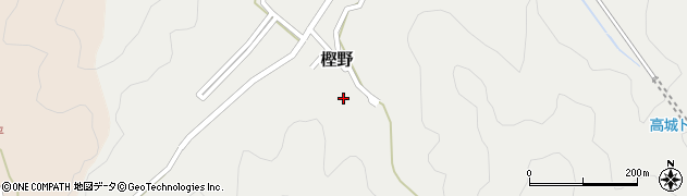大分県佐伯市上岡488周辺の地図