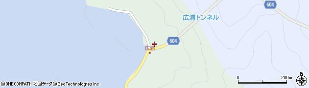 大分県佐伯市鶴見大字中越浦637周辺の地図