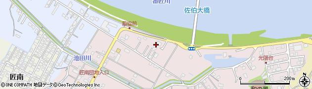 大分県佐伯市池田1332周辺の地図