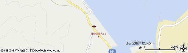 大分県佐伯市鶴見大字地松浦395周辺の地図