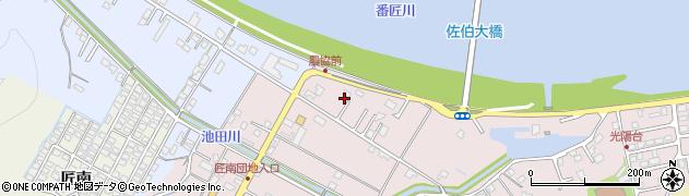 大分県佐伯市池田1321周辺の地図