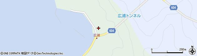 大分県佐伯市鶴見大字中越浦638周辺の地図