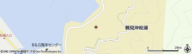 大分県佐伯市鶴見大字沖松浦863周辺の地図