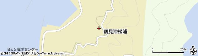 大分県佐伯市鶴見大字沖松浦989周辺の地図