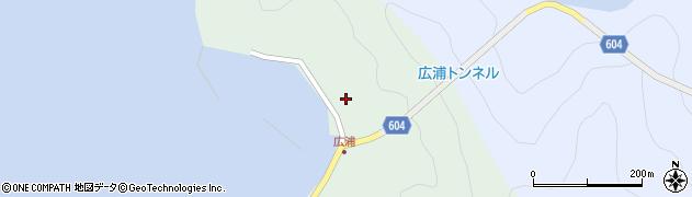 大分県佐伯市鶴見大字中越浦639周辺の地図