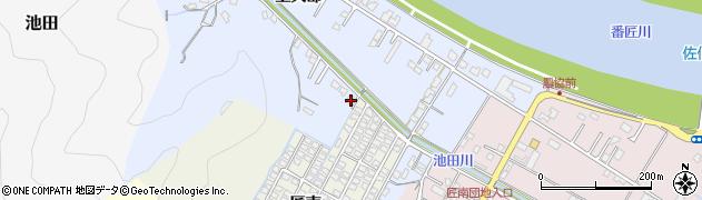 大分県佐伯市池田895周辺の地図
