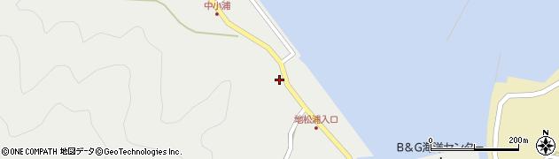 大分県佐伯市鶴見大字地松浦397周辺の地図