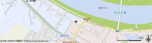 大分県佐伯市池田659周辺の地図