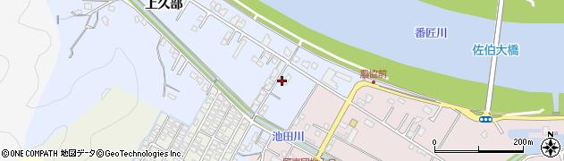 大分県佐伯市池田577周辺の地図