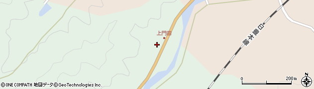大分県佐伯市弥生大字江良1758周辺の地図