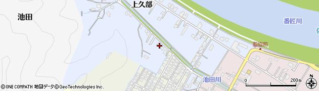 大分県佐伯市池田892周辺の地図