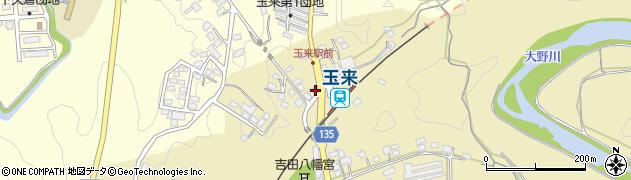 大分県竹田市吉田342周辺の地図