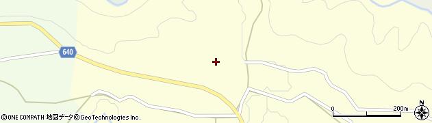 大分県竹田市荻町政所1030周辺の地図