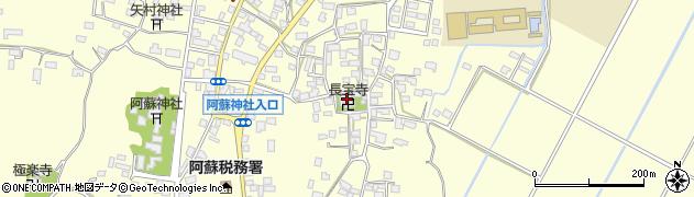 長宝寺周辺の地図