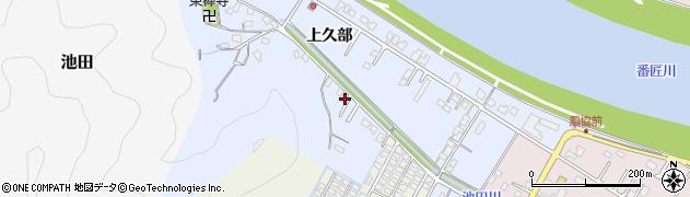 大分県佐伯市池田884周辺の地図